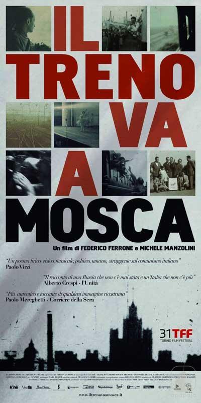 """""""Il treno va a Mosca"""" film documentario prodotto da Apapaja - Produzioni Cinematografiche"""